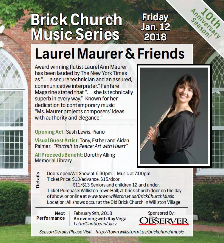 Brick Church Music concert poster